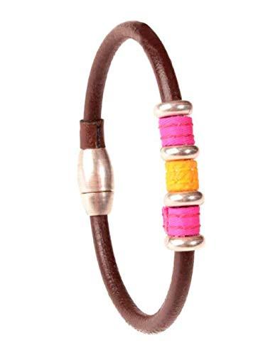 TS para Toroshopping Pulsera de cuero TIENTA - Cuero, L (21 cm.)