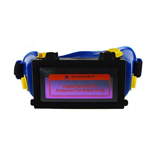 Congchuaty lasogen bril auto donker helm masker oogschaduw veiligheidsbril Blauw
