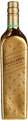 Johnnie Walker Gold Label Limited Edition Gold Bullion Bottle (1 x 0.7 l)