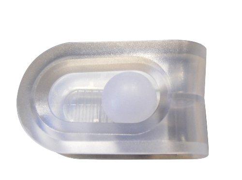 """RIDDER 50600 Duschvorhangklammer """"Fix It"""" zum fixieren von Duschvorhängen, transparent"""