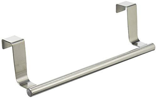 コモライフ ステンレス製のタオルかけ タオルハンガー タオル掛け キッチン 洗面 扉 給湯室 ツールフック約7×23×6cm