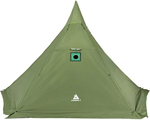 Pomoly HEX New products, world's highest quality popular! Plus Hot Tent Large Camping 4 55% OFF Stove Se with Jack Tipi