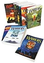 Erin Hunter's Warriors Series (#1-6) : Into the Wild - Fire and Ice - Forest of Secrets - Rising Storm - A Dangerous Path - The Darkest Hour (Children Book Sets : Grade 4 and Up)