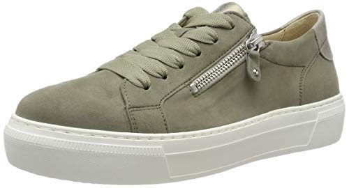 Gabor Shoes Damen Jollys Sneaker, Grün Schilf Bronce 38, EU