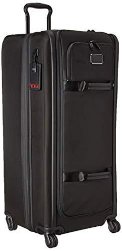 TUMI - Alpha 3 Tall 4 Wheeled Duffel Packing Case Suitcase - Rolling Luggage for Men and Women - Black