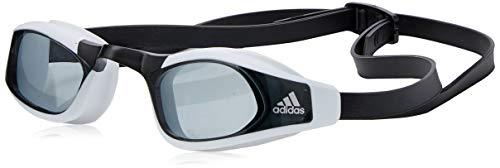 adidas PERSISTAR Race Gafas de Natación, Unisex Adulto, Smoke Lenses/Black/Silver Met, S