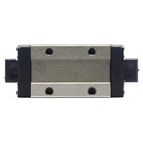 400 mm ReliaBot 200 mm Gu/ía de carril lineal MGN9 con bloque de transporte MGN9C MGN9H para impresora 3D y m/áquina CNC