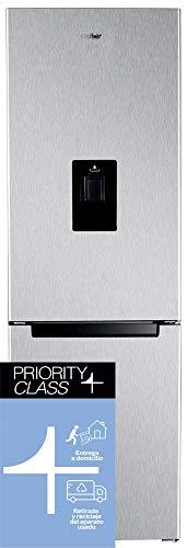 Sauber - Frigorífico Combi con DISPENSADOR SERIE 3-185BDI - No Frost (Congelador)- Eficiencia energética: A+ - 185x60cm - ENTREGA EN DOMICILIO