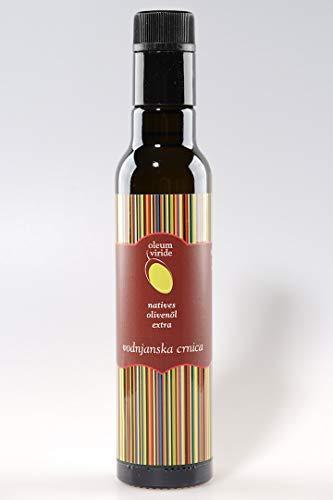 Olea BB - oleum viride belic - Vodnjanska crnica (Carbonazza), natives Olivenöl Extra, handgeerntet und kaltgepresst, Istrien (Kroatien), 0,25 l