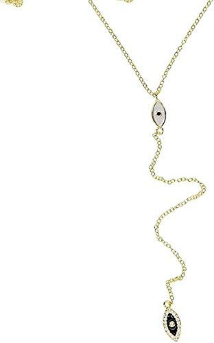 ZJJLWL Co.,ltd Necklace Trendy Sterling Silver Necklace Fashion Women Jewelry Long Chain Women Summer Silver Y Lariat Necklace for Women Men Gifts