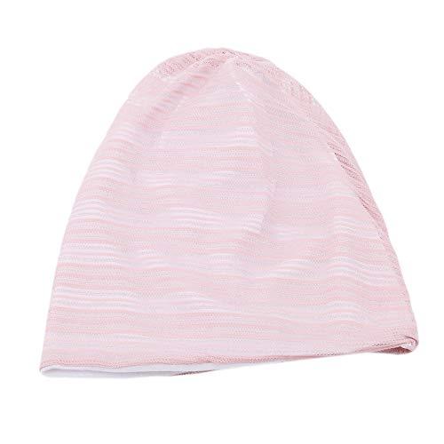 Ellepigy Creative - Gorro de invierno para mujer y niña, de algodón, de punto, para esquí, snowboard, color rosa