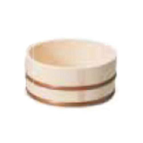 湯桶 中(口厚)風呂桶 手桶 おけ お風呂 洗面器 木製 バス用品 風呂用品 39051 小柳産業 H