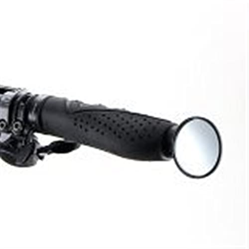 HSYSA Ciclismo Espejos for Bicicletas MTB Bicicleta de Carretera Bicicleta Manillar Mirador Retrovisor Ultralight Safe Mirror Accesorios de Bicicletas (Color : Black)