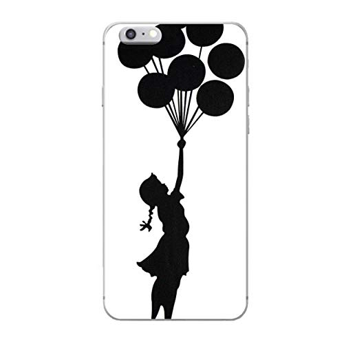 iCHOOSE Banksy gelbehuizing voor smartphone Apple iPhone 6 Plus / 6s Plus Palloncini