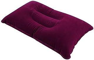 SENZHILINLIGHT Oreiller de voyage portable et pliable pour dormir en plein air, coussin gonflable et confortable pour dorm...