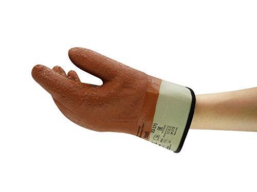 Ansell Winter Monkey Grip 23-173 Guanto per Usi Speciali, Protezione Meccanica, Marrone, Taglia 11 (12 Paia)