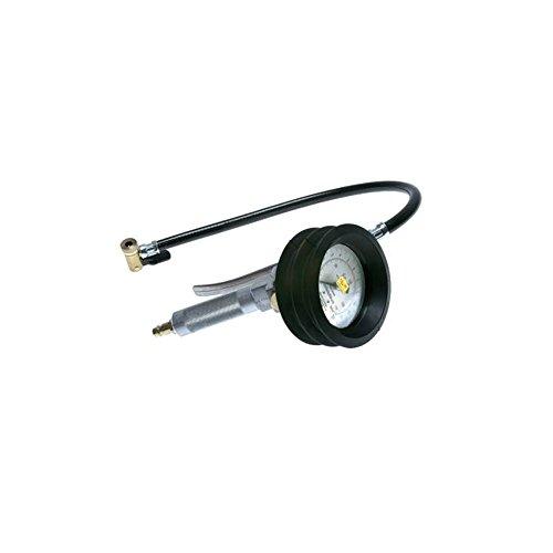 Inflador de neumáticos calibrado, 0-12 bar, con palanca