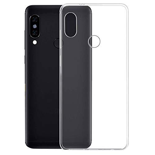 TBOC Funda de Gel TPU Transparente para Samsung Galaxy M20 [6.3 Pulgadas] Carcasa de Silicona Ultrafina Flexible para Teléfono Móvil