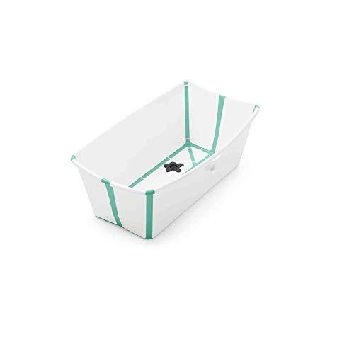 STOKKE - Bañera Plegable Stokke ® Flexi Bath blanco/aqua