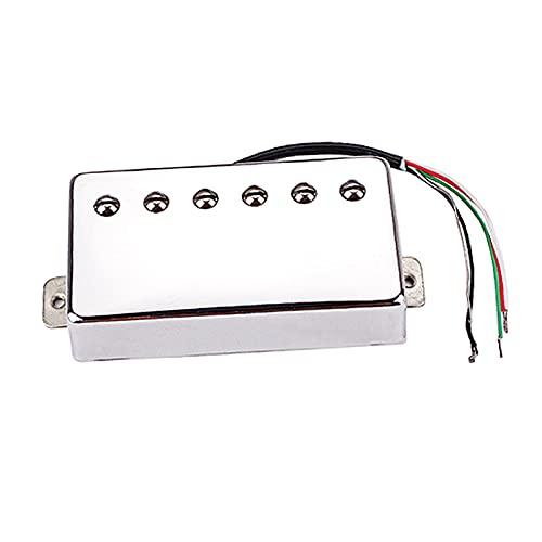 perfeclan Juego de pastillas Humbucker de cable de PVC profesional de 4 núcleos para piezas de repuesto de accesorios de guitarras...