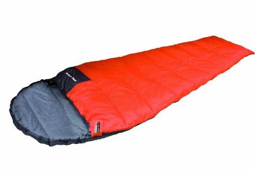 HIGH PEAK Sac de couchage léger Easy Travel Orange foncé / gris foncé 20071