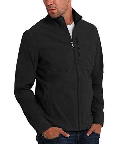 Orvis Men's Lightweight Water Resistant Stretch Jacket (Black, Medium)