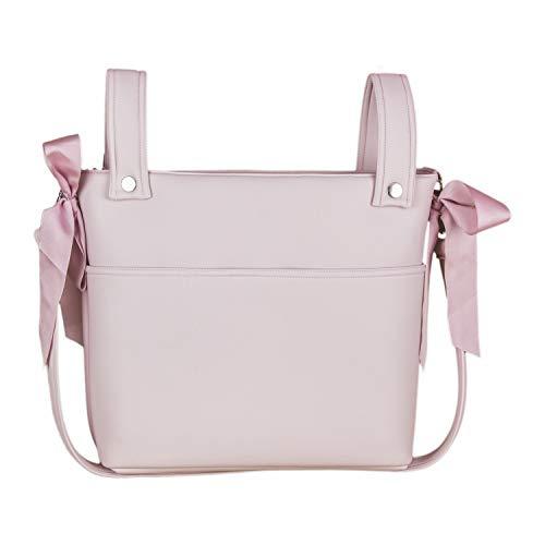 Talega o Bolsa para silla de Paseo Rosy Fuentes en rosa empolvado