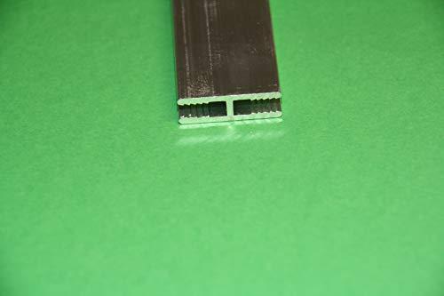 Aluminium H - Profile Pressblank für 3 mm Platten in 1000 mm (1 Meter) Länge
