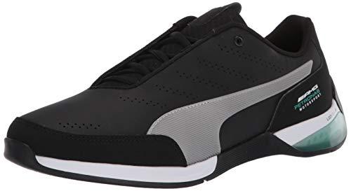 Puma Mercedes Kart Cat X - Zapatillas deportivas, Negro (Negro/Plateado), 40 EU