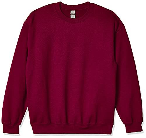 Gildan Men's Fleece Crewneck Sweatshirt, Style G18000, Maroon, X-Large