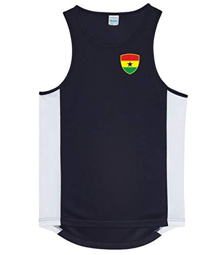Nation Ghana Trikot Tank Top Athletic Sport Gym ATH BR-SC (S)