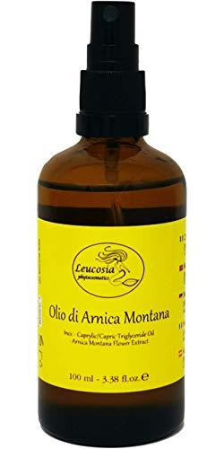 Aceite de Arnica Montaña - Estimula la circolacion, favorece el absorbimiento de lividos, hematomas, equimosis, edemas.