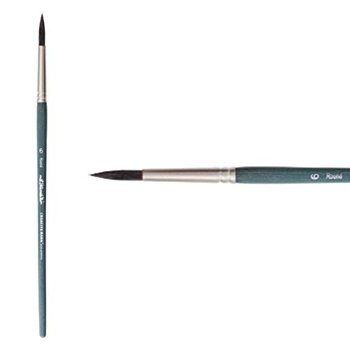 Creative Mark Mimik High Performance Professional Artist Synthetic Squirrel Hair Watercolor Brush- Round 6