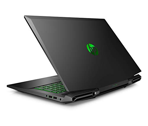 HP Pavilion Gaming 17-cd1275ng (17,3 Zoll/FHD IPS 144Hz) Laptop (Intel Core i7-10750H, 16GB DDR4 RAM, 1TB HDD, 512GB SSD, Nvidia GeForce GTX 1660Ti 6GB Max Q, WiFi6, BT 5, Windows 10) schwarz