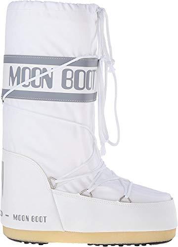 Moon Boot 140044, Bottes de Neige mixte enfant - - (Weiss (Weiss 006)), 31 EU