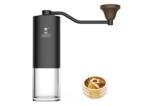 timemore G1 (S) Titan Grat Molinillo de café manual Recipiente para PC
