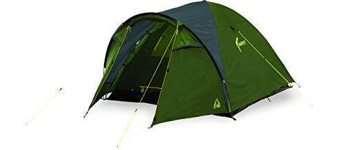 Best Camp - Tienda de campaña Lisa Harvey 3, Color Verde/Gris Oscuro, L
