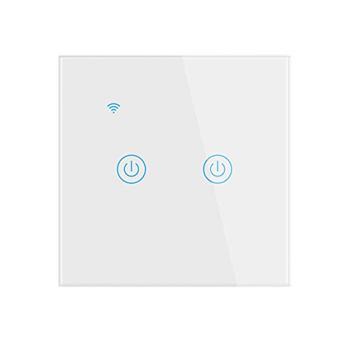 Interruptor de Luz Inteligente, Interruptores de Luz Táctil Wifi...