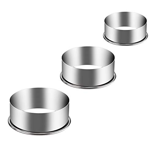 KSPOWWIN Stainless Steel Round Cookie Cutter