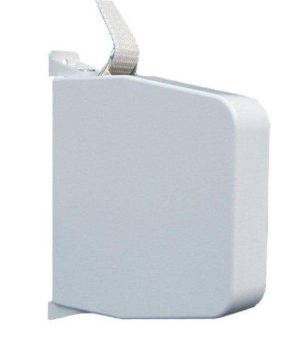 Schellenberg 50801 Aufschraubwickler Maxi 23mm, schwenkbar, 5,3m Gurtband, weiß