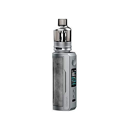 VOOPOO Drag X Plus Box Kit 100W 5.5 ML Kit completo di sigarette elettroniche -Nessuna batteria, nessun liquido, senza nicotina (Smoky Grey)