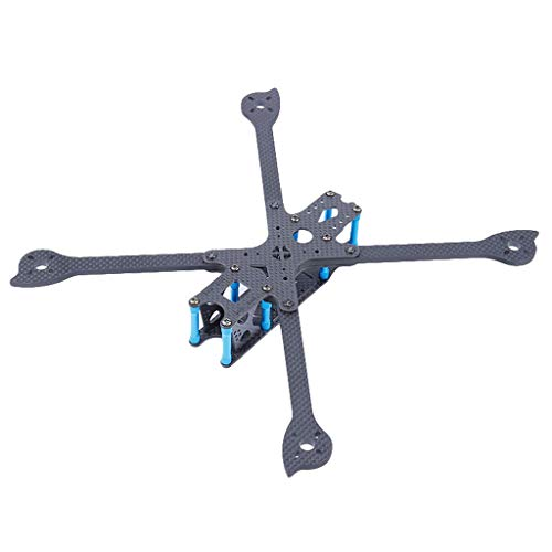 Alecony FPV Drone Frame Carbon Fiber Freestyle X Frame Quadcopter Kit,IFlight XL7 V4 285mm 7 Zoll Long Range Frame Kit Arm 5mm für FPV Racing Drone