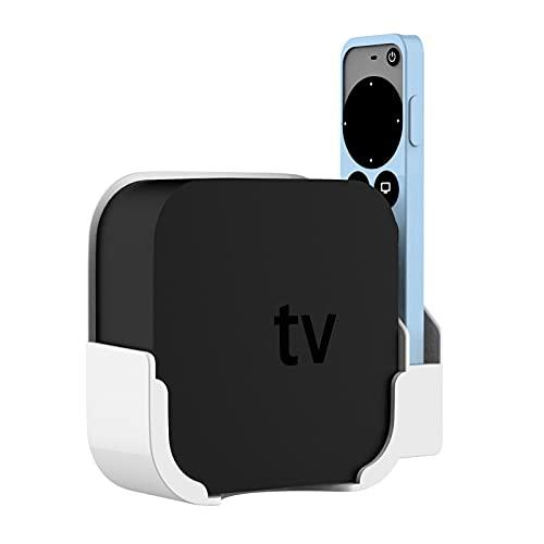 zebroau Soporte para TV de manzanas, soporte de base fácil de instalar, compatible con todos los Apple TV 4K