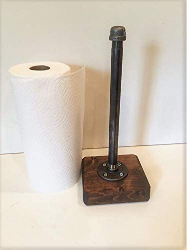 Industrial Rustic Urban Pipe Paper Max 44% OFF Towel Holder Gorgeous s your Pick own