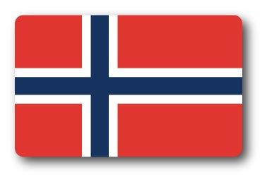 SK-262 100円ステッカー ノルウェー NORWAY 国旗ステッカー スーツケース ステッカー