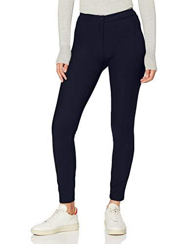 United Colors of Benetton Damen Pantalone Hose, Blau (Blu 016), 36 (Herstellergröße: 42)