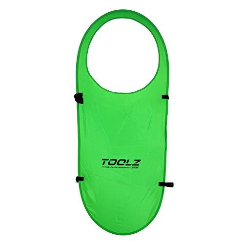 TOOLZ Pop Up Target für das Tennistraining (2er Set) - Zielmarkierung für gezielte Tennisschläge