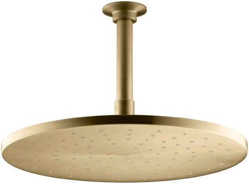 Best Price Kohler 13690-BGD Rainheads, Vibrant Moderne Brushed Gold