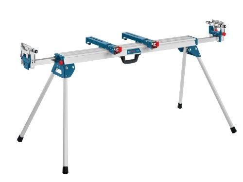 Bosch Professional Arbeitstisch für Kapp- und Gehrungssägen GTA 3800 (inkl. Maschinenhalter, Schraubschlüssel, Werkstückauflagen)