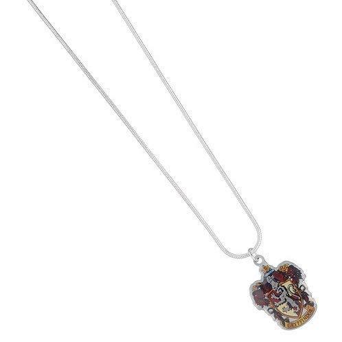 Collana ufficiale Harry Potter placcata argento - Cresta Grifondoro